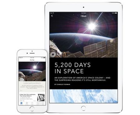 Apple News nouvelle appli presse