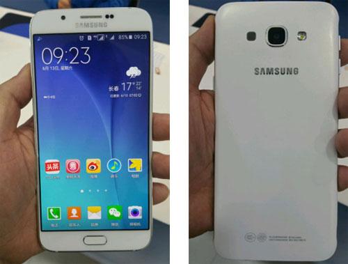 Samsung Galaxy A8 premières photos