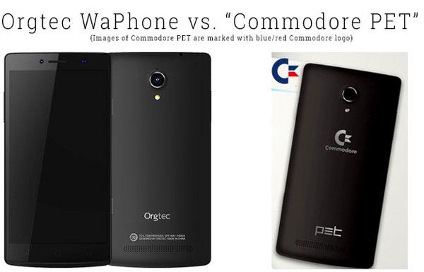 Commodore PET réplique smartphone chinois