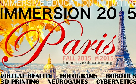 Immersion 2015 3d realite augmentee