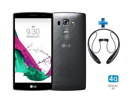 LG G4S promo smartphone