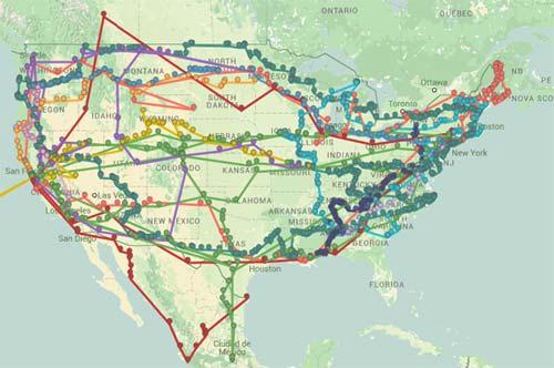 Road Trip littéraire USA