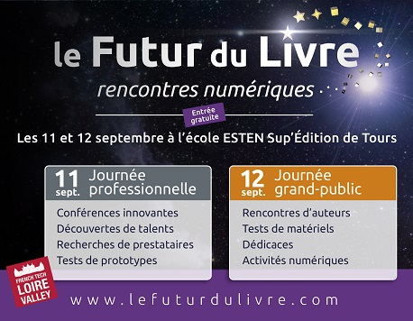 Salon Futur du livre Tours ebooks