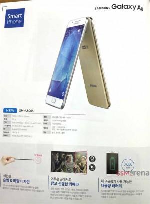 Samsung Galaxy A8 dévoilé dans un catalogue