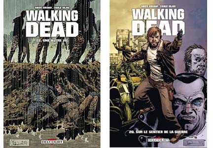 Walking Dead comics en promo
