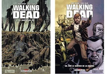 Walking Dead comics en promo