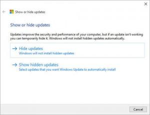 Windows 10 outil pour gérer mises à jour