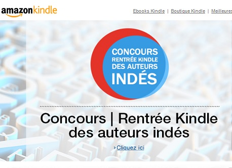 concours autoedition amazon kindle