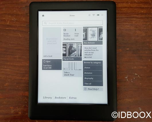 Kobo Glo HD Test