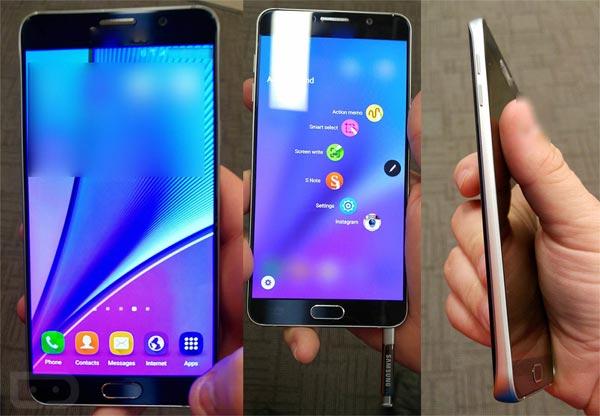 SAmsung Galaxy Note 5 sans carte microSD