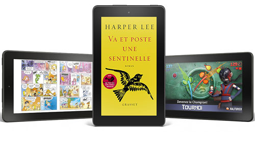 Tablette Amazon Fire à 60 euros