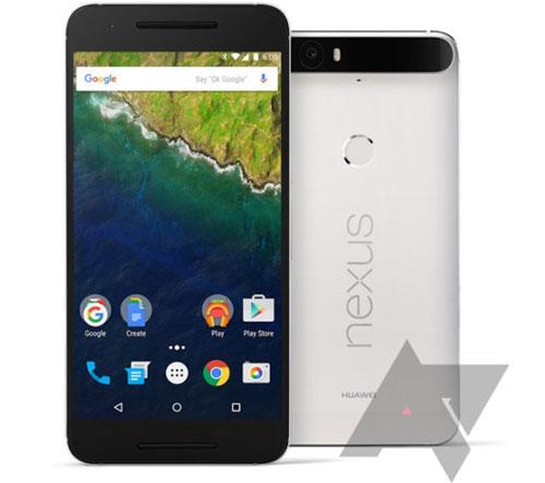 Huawei Nexus 6P photo et packaging