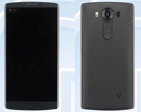 LG V10 smartphone double écran