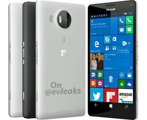 Microsoft Lumia 950 XL rendu presse