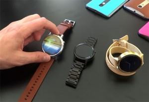 Motorola fait une pause dans le montres connectées