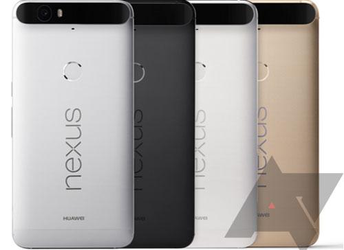 Nexus 6P et Nexus 5X différentes couleurs