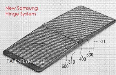 Samsung smartphone avec écran pliable