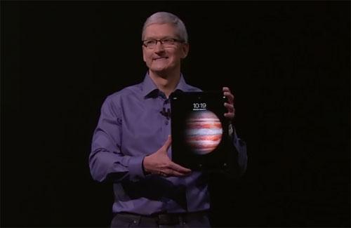 ventes tablettes Apple s'en sort bien grâce à l'iPad Pro