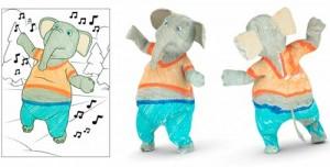 Disney Coloriages 3D réalité augmentée