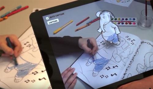 Disney-coloriages-3D