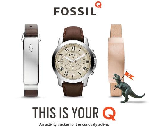 Fossil smartwatch et objets connectés