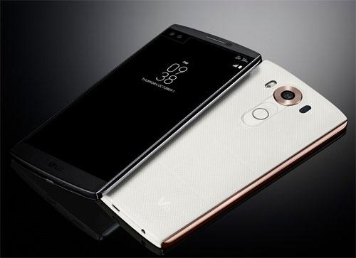 LG V10 smartphone double écrans