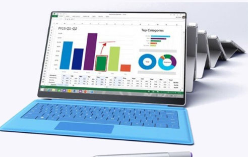 Microsoft Surface Pro 4 écran intelligent