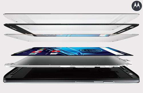 Moto X force avec écran incassable