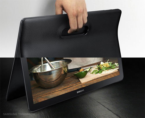 Samsung Galaxy View officielle