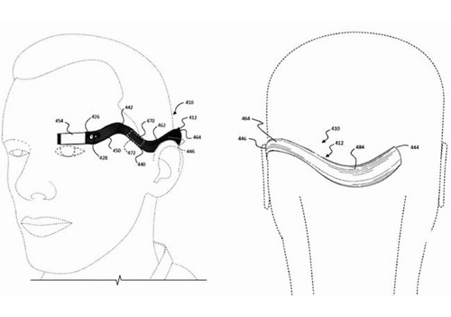 Google Glass 2 monocle flexible