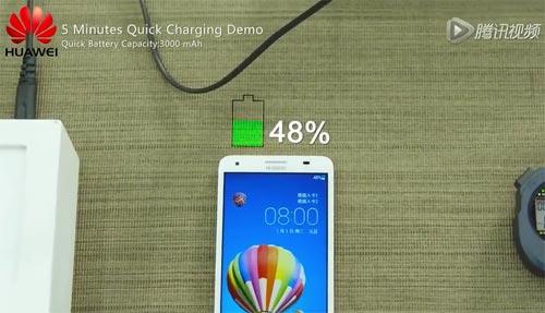 Huawei recharge ultra rapide