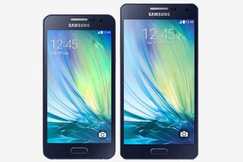 SAmsung Galaxy A3 Galaxy A5 nouvelles caractéristiques