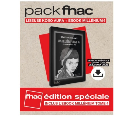 black friday pack kobo avec Millenium