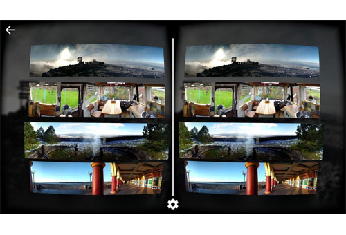 Google Cardboard Camera photos réalité virtuelle