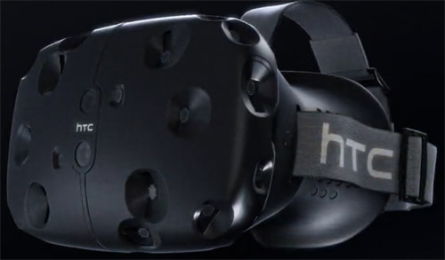 HTC Vive réalité virtuelle