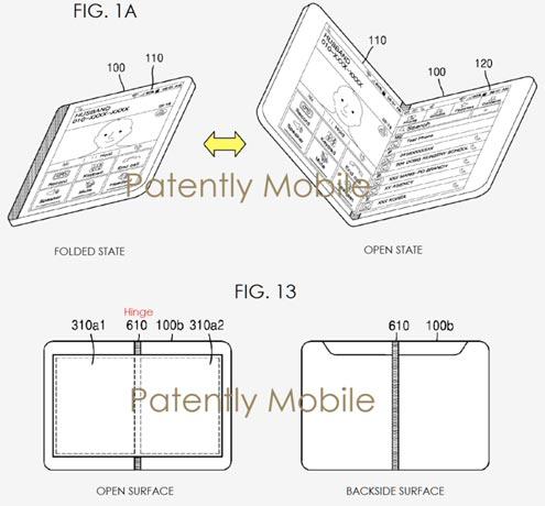 Samsung Galaxy X pliable en 2017