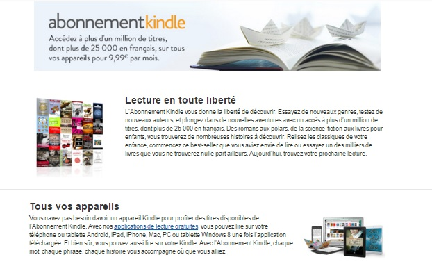 abonnement kindle kindle unilmited ebook