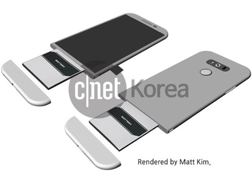 LG G5 changement de design