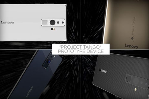 Lenovo smartphone géant Projet Tango