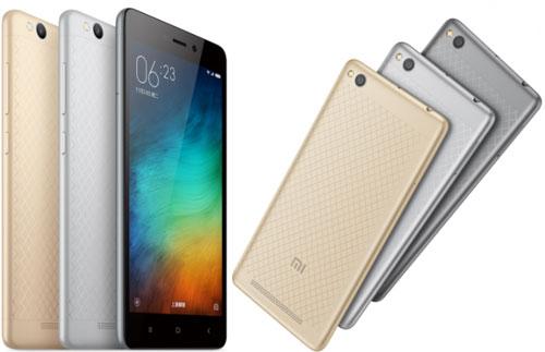 Xiaomi Redmi 3 en métal à 100$