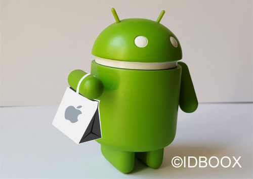 Apple ses services sur Android