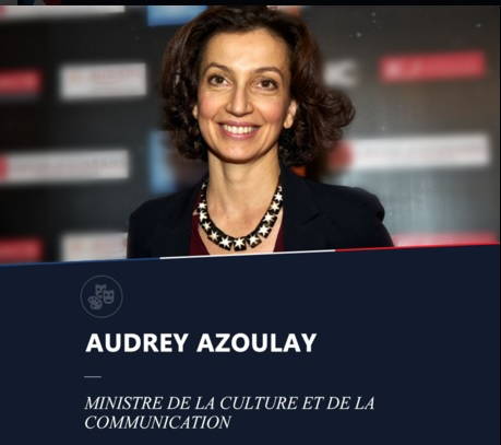Audrey Azoulay Ministre culture