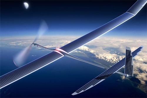 Google Projet Skybender drones internet 5G
