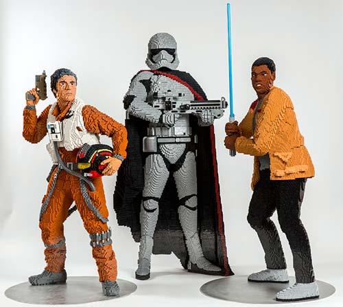 Lego se paye les personnages de star wars idboox - Lego star wars personnage ...