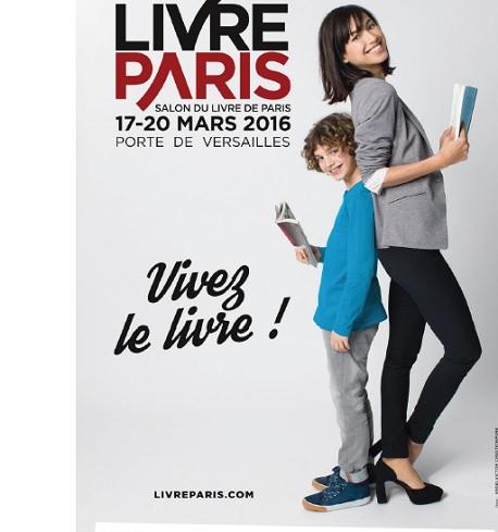 Livre paris 2016 affiche