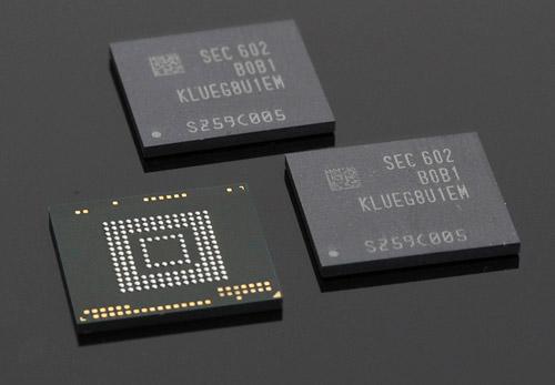 Samsung stockage 256 GB smartphones