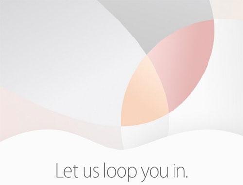 Apple invitation 21 mars