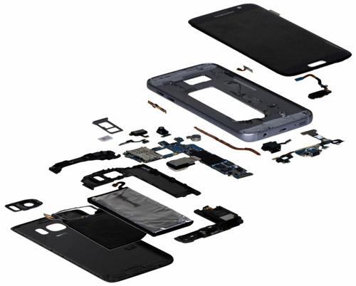 Galaxy S7 coût des composants IHS