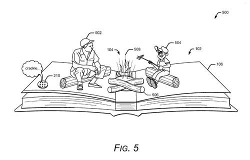 Google brevet livre papier réalité augmentée