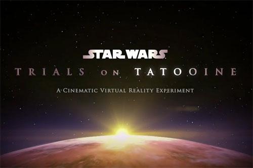 HTC Vive Star Wars en réalité virtuelle